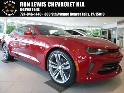 New 2017 Chevrolet Camaro 2LT RWD COUPE