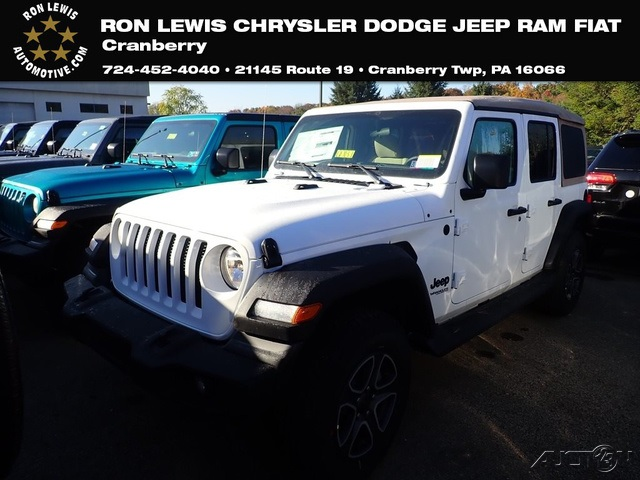 New 2020 Jeep Wrangler Unlimited