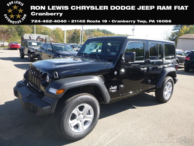 New 2018 Jeep Wrangler Unlimited Sport Suv In Cranberry Township