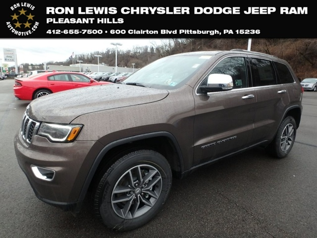 Delightful New 2018 Jeep Grand Cherokee Limited