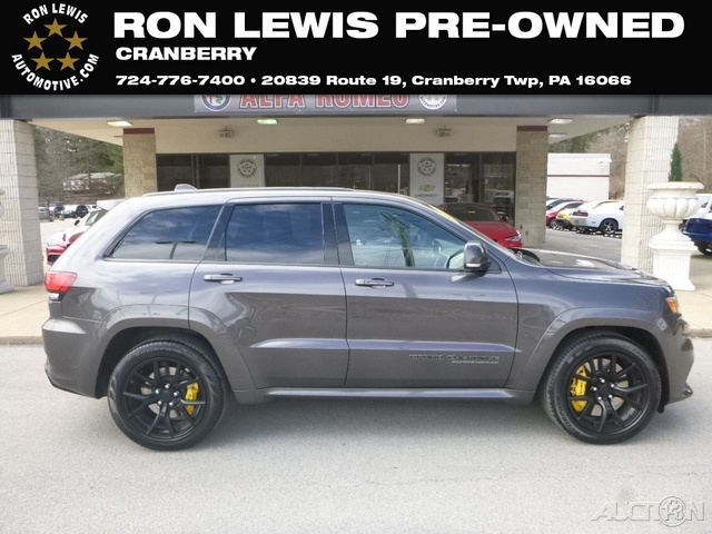 Pre Owned 2018 Jeep Grand Cherokee Trackhawk Wagon In Cranberry