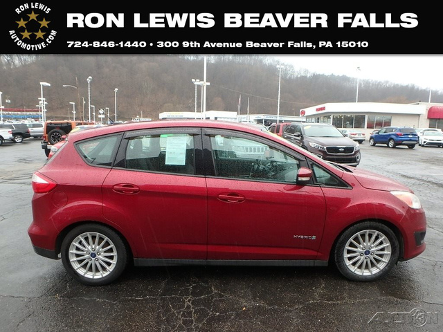 Pre Owned 2017 Ford C Max Hybrid Se Hb In Beaver Falls 9t037m Ron Lewis Automotive Group