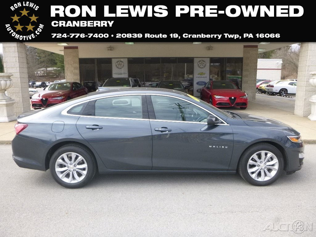 Pre Owned 2019 Chevrolet Malibu Lt Sedan In Cranberry Township