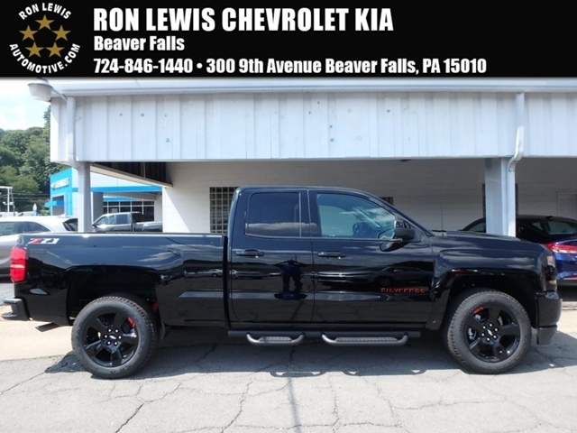 New 2018 Chevrolet Silverado 1500 Z71 Red Line Edition