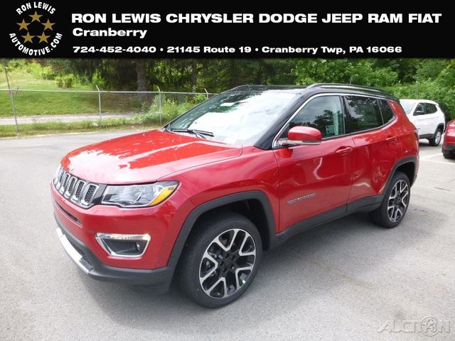 New 2018 Jeep Compass Limited Suv In Cranberry Township Q8747 Ron