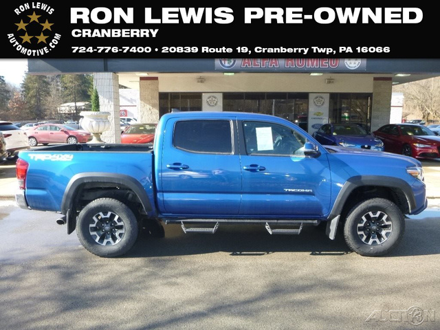 Pre Owned 2017 Toyota Tacoma Picku In Cranberry Township 4u386