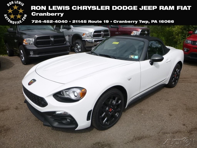 New 2019 Fiat 124 Spider Abarth Convertible In Cranberry Township